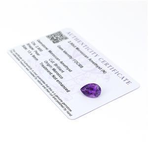Moroccan Amethyst Gemstone Pieces  3.64cts