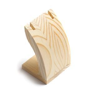 Wooden Display Pendant Stand Approx 5x4x7.5cm