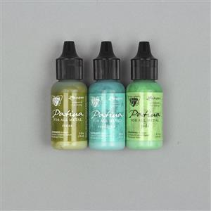 Vintaj Patina Kit - Weathered Copper, 3x 14ml EARQ03