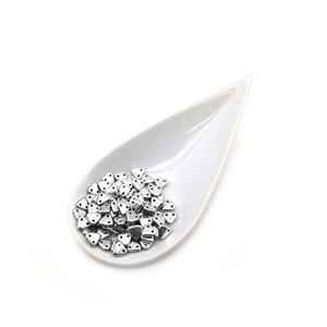 Triangle Silver Beads 6mm (9GM/TB)