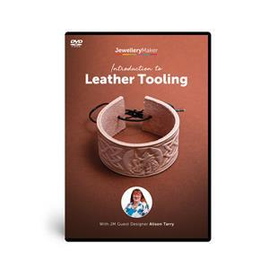 Alison Tarry's Introduction To Leather Tooling DVD (PAL)