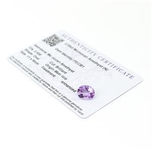 Moroccan Amethyst Gemstone Pieces  3.34cts