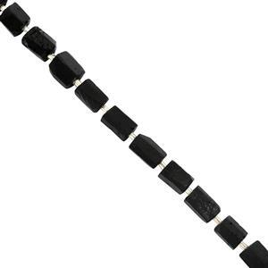 Black Tourmaline Gemstone Strand