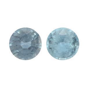 0.8cts Orissa Kyanite 5x5mm Round Pack of 2 (N)