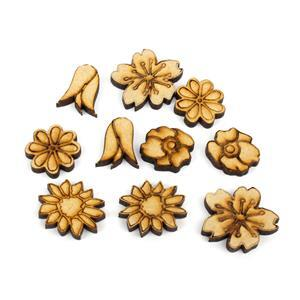 MDF Mini Nature Earring Collection 5pairs