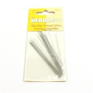 Beadsmith Needle Twisted Wire Medium 50/CD
