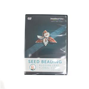 Seed Beading – Russian Leaf Floral Cuff DVD (PAL)