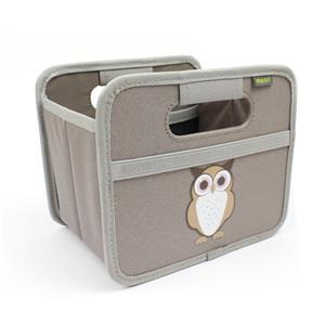 meori Foldable Box Mini Print Owl Palm Taube