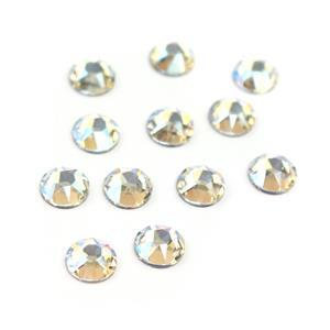 Swarovski XIRIUS Flat Back 2078 (Hot Fix) 7mm SS34 Crystal Moonlight AHF 12 pk