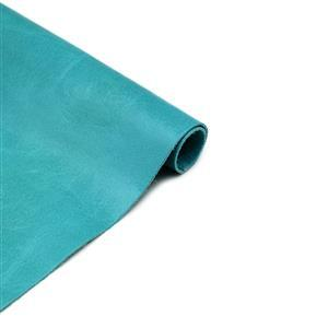 """Canada Turquoise Cow Hide, 12x12"""""""