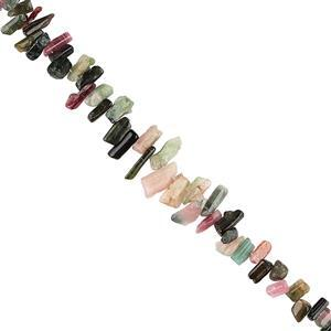 Multi-Colour Tourmaline Gemstone Strands