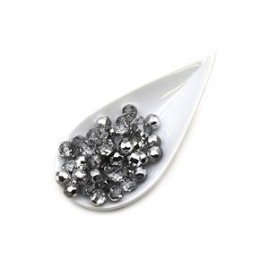 Czech Fire Polished Beads – Crystal Labrador, 8mm (50pcs)