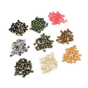 Preciosa Ornela Mega Bundle! Variety of Colours 6mm Beads (50 per pack)