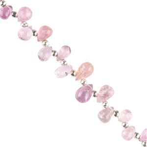 Pink Imperial Topaz Gemstone Strands