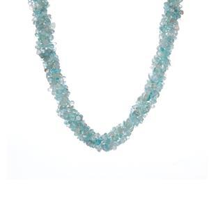 Apatite Necklace in Sterling Silver 363.10cts