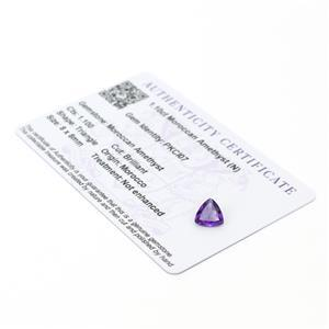 Moroccan Amethyst Gemstone Pieces  1.51cts