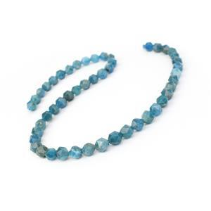 120cts Apatite Star Cut Rounds Approx 8mm, 38cm Strand
