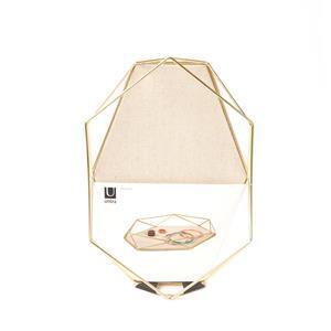 Umbra Prisma Brass Jewellery Tray Approx 28 x 18.4 x 3.8cm