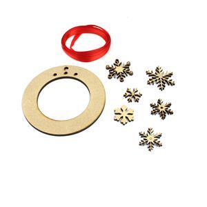 Christmas Wreath Decoration/Earring Display Kit