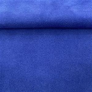 "Royal Blue Silky Calf Suede 6x6"""