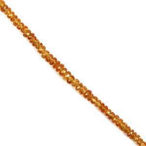 Mandarin Garnet Gemstone Strands