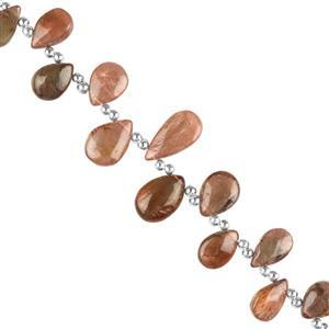 Andalusite Gemstone Strands