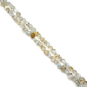 "440cts Multi Topaz Nuggets Approx 5x8mm, 60"" Endless Necklace"