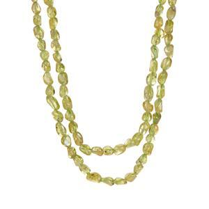 234ct Changbai Peridot Necklace