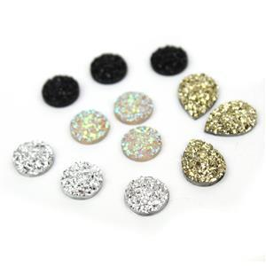 Resin Cabochons Collection! 12pc