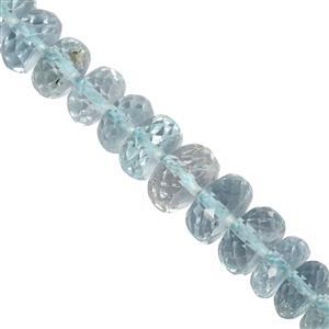Aquamarine Gemstone Strand