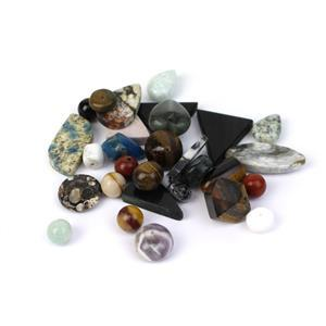 Multi-Colour Multigem Loose Gemstone  250cts