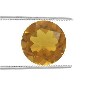 0.3cts Burmese Amber 7x7mm Round  (N)