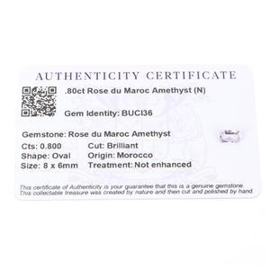 Amethyst Gemstone Pieces  1.11cts