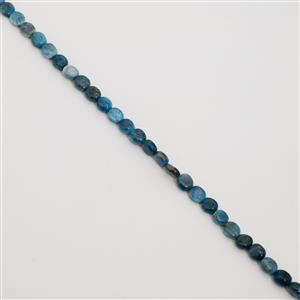 190cts Neon Apatite Oval Nuggets Approx 10x9mm, 38cm Loose Strand
