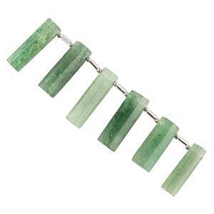Green Quartz Gemstone Strands