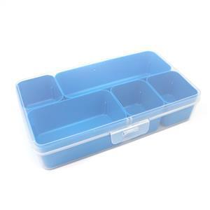 Q-line Blue Mixed Divider Box Incl. 5 Demountable Baskets