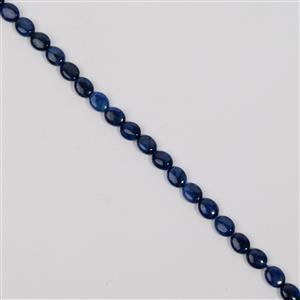 105cts Neon Blue Apatite Fancy Oval Approx 8x10mm, 38cm
