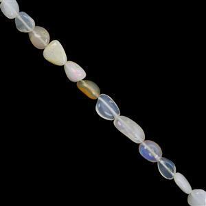 Ethiopian Opal Gemstone Strand