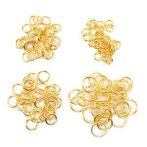 925 Gold Plated Sterling Silver Jump Rings! inc; ID 7mm, ID 5mm, ID 4mm and ID 3mm!