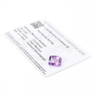 Moroccan Amethyst Gemstone Pieces  4.82cts