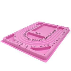 JewelryMaker Pink Necklace Making Tray (25x30cm)