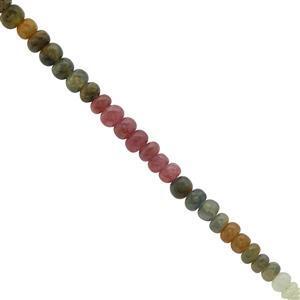 Multi Colour Sapphire Gemstone Strand