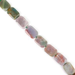 380cts Fancy Jasper Faceted Slabs 13x18 to16x22mm, 38cm