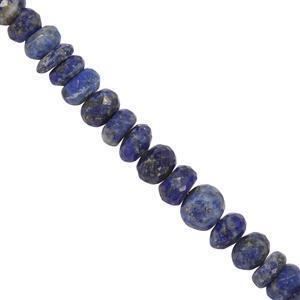 Sar-i-Sang Lapis Lazuli Gemstone Strand