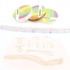 Marshmallow Jewellery Making Kit with Rounds