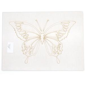 MDF Butterfly Design, A4