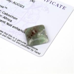 11.9cts Aquaprase 16x16mm Octagon  (N)