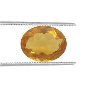 0.45cts Burmese Amber 9x7mm Oval  (N)