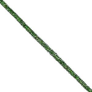 Chrome Diopside Gemstone Strands