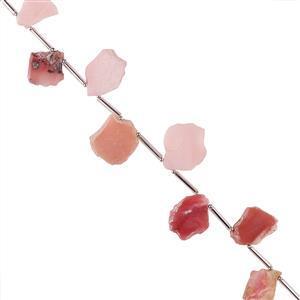 Pink Opal Gemstone Strands
